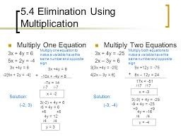 5 4 elimination using multiplication 11 5 5 applying systems of equations