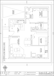 north facing house plans in 30 40 site awesome east facing house plan according to