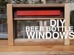 Cabin Windows beer bottle windows for your shed club house tree house or 8505 by uwakikaiketsu.us