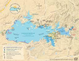 Lake Camanche Campground Maps Location Map Lake Camanche