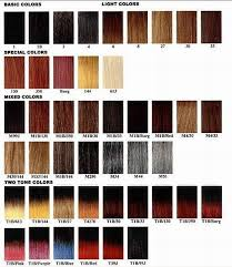 Janet Collection Color Chart Yaki Hair Color Chart Mixing Hair Color Hair Color For