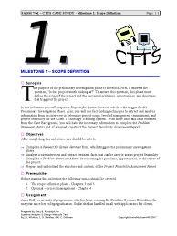 SADM   ed   CTTS CASE STUDY   Milestone    Object Analysis Solution Page       Scribd