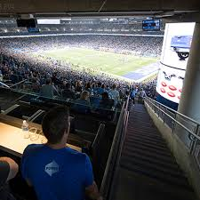 Premium Seating Ford Field