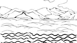 Water Coloring Pages For Coloring Pages For Peter Walks On Water