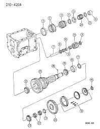 1994 dodge ram 3500 gear train