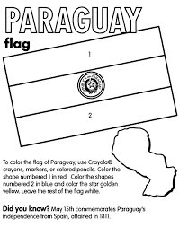 Small Picture Paraguay Coloring Page crayolacom