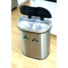 tall trash can. Narrow Kitchen Trash Can Tall Cans Inch Round Garbage With Lid For The Kit . Mod Slide Out Plastic L