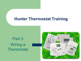hunter thermostat 44550 wiring diagram wiring diagrams hunter thermostat training part 1 how it works the