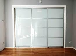 great glass closet doors