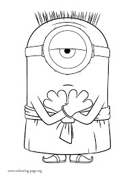 Small Picture Baby Minion Coloring Pages Coloring Pages