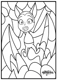Learn to draw and color vampirina, wolfie and demi from the hit show vampirina on disney jr. Printable Disney Bat Vampirina Coloring Pages