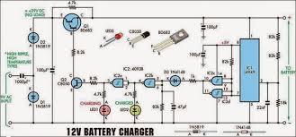 electrical engineering world 12 volt battery charger circuit diagram 12 volt battery charger circuit diagram