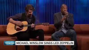 Michael Winslow sings Led Zeppelin ...