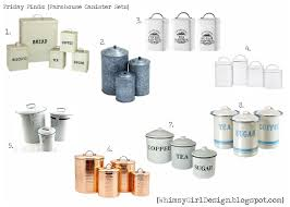 friday finds farmhouse inspired canister sets