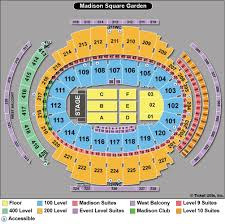 Msg Sesting Chart 26 Beautiful Madison Square Garden Concert Seating Chart