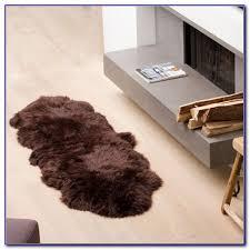 grey sheepskin rug costco