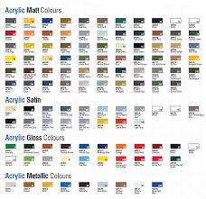 Airfix Model Paint Colour Chart 76 Surprising Humbrol Revell Chart