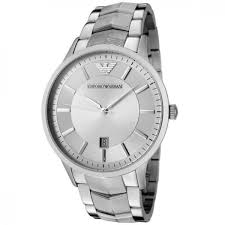 mens emporio armani classic steel bracelet watch ar2415 uk outlet mens emporio armani classic steel bracelet watch ar2415