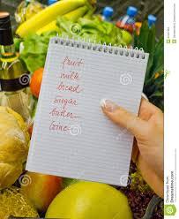 Lista De Compras Supermercado
