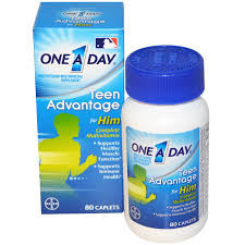 One a day multivitamins teen advantage
