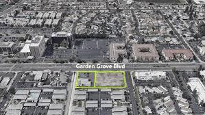 garden grove blvd development site
