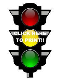 Stoplight Behavior Chart Templates Using A Visual Behavior Chart