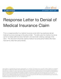 Best Photos Of Medical Claim Appeal Letter Sample Medical