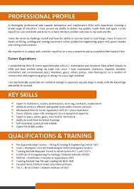 Examples Of Australian Resumes