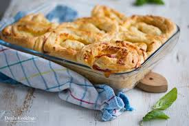 Ham And Cheese Bread Rolls Danis Cookings