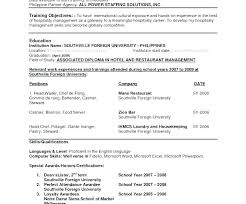 Proper Format For Resume Formatting For Resume Proper Format Resume