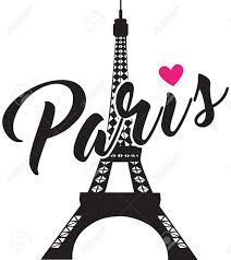 Paris Graphic Designer Stock Illustration