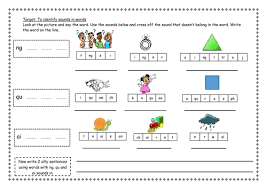 Here, you will find free phonics worksheets to assist in learning phonics rules for reading. Ng Ai And Qu Phonic Worksheet Teaching Resources