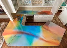 Creative Diy Countertops Concrete Countertops Cost White Concrete Countertop And Sink With