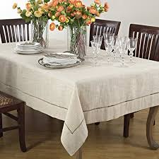 linentablecloth 108 inch round polyester tablecloth white kitchen dining 5nci8f2pu