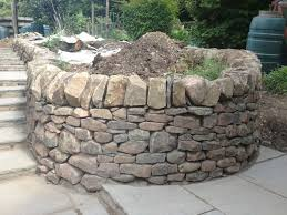 Small Picture Stone Inspired Dry Stone walling Garden Design and Landscaping