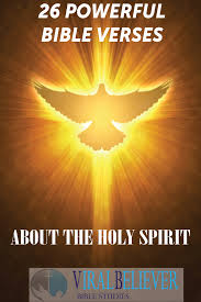 Bible Quotes On The Holy Spirit