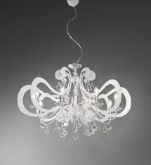 ornella ceiling lamp metal chandelier modern various finishes