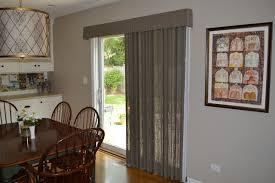 Window Treatments. Kitchen Sliding Glass Door traditional