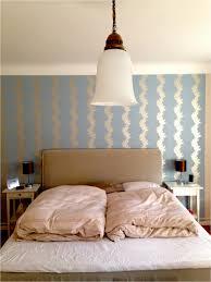 Schlafzimmer Wand Hinter Dem Bett Gestalten Während Wandgestaltung