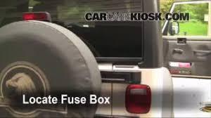 interior fuse box location 1997 2006 jeep wrangler 2006 jeep 1997 2006 jeep wrangler interior fuse check
