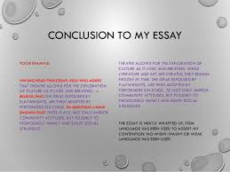example of a conclusion for an essay pick most suitable drug  example of a conclusion for an essay 19 conclusion to my essay poor example