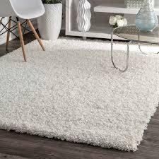 8 10 white rug size