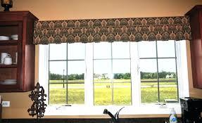 valances for sliding glass doors valance ideas wood