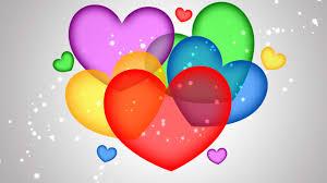 3d colorful heart wallpapers. Unique Colorful 3D Heart Wallpaper To 3d Colorful Wallpapers A