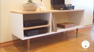 Diy Mid Century Modern Console Table Modern Builds Ep 6 Kitchen