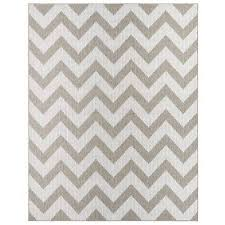 mohawk home oasis tofino chevron silver rectangular 5 ft 3 in x 7 ft 6 in rug