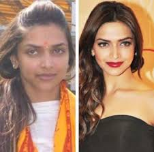 18 bollywood actresses with makeup and without makeup