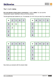 free collection of 30 times tables questions worksheet