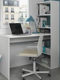 corner computer desk white study table bookcase storage home office furniture