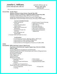 write resume objectives college students well written examples .